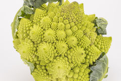 Tower of cauliflower Royalty Free Stock Photography