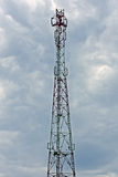 Tower for cellular communication Royalty Free Stock Image