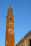 Tower in the center of the Palladian Basilica Royalty Free Stock Photos