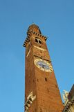 Tower in the center of the Palladian Basilica Stock Images