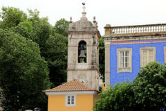 Tower center of Sintra Stock Photography