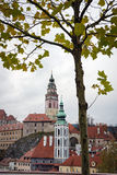Tower of Ceske Krusovice castle, Czech Republic Royalty Free Stock Image