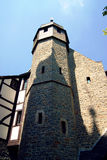 The tower of the chapel of the castle in Altena Stock Photo