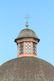 Tower of a chapel in Rimov Royalty Free Stock Photos
