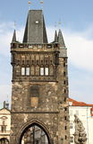 Tower on Charles Bridge, Prague Royalty Free Stock Image