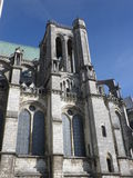 Tower of Chartres cathedral Royalty Free Stock Photography