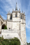 Tower on the the Chateau d'Amboise Royalty Free Stock Photo