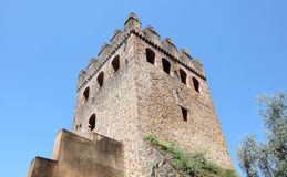 Tower in Chefchaouen, Morocco Stock Images