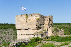 Tower of the Cherven medieval fortress, Bulgaria, Europe Stock Photos