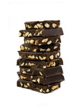Tower of chocolate Stock Image
