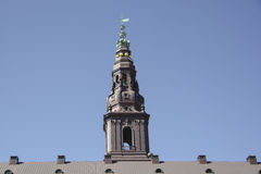 Tower of Christiansborg Palace in Copenhagen Stock Photography