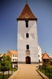 Tower Church. Orthodox tower Church in Transylvania stock photos