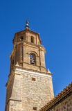 Tower of the church of Albarracin Stock Images