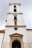 Tower of Church of the Assumption of Virgin Mary Royalty Free Stock Images