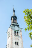 Tower of church Royalty Free Stock Images