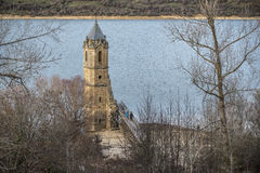 Free Tower Church Dams River Ebro Cantabria Spain Stock Photos - 64405613