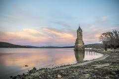 Free Tower Church Dams River Ebro Cantabria Spain Stock Photo - 64406920