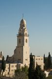 Tower of the Church of Dormition Royalty Free Stock Photography