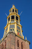 Tower of the A church in Groningen Stock Image