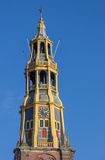 Tower of the A church in Groningen Royalty Free Stock Images