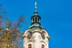 Tower of the Church Royalty Free Stock Images