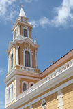Tower of a church in Joao Pessoa Stock Photo