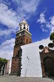 Tower of the church of Nuestra Senora de Guadalupe Royalty Free Stock Photo