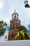 Tower of church of Nuestra Señora de Guadalupe Royalty Free Stock Photography