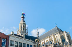 Tower of the Church of Our Lady, Breda, Netherlands Stock Photo