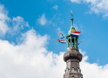 Tower Church of Our Lady in the Dutch city of Breda. Stock Images
