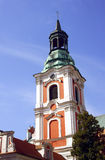 Tower of church in Poznan Royalty Free Stock Images