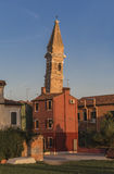 Tower of the Church of San Martino Stock Photo