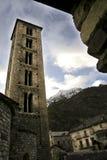 Tower of the church of Santa Eulalia de Erill-la-Vall Royalty Free Stock Photo