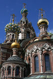 Tower of Church of the Savior on Blood Stock Photo