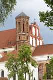 Tower of Church St Francis of Assisi Stock Images