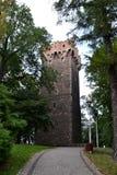 Tower, Cieszyn royalty free stock photo