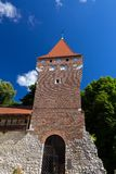 Tower of the city fortification in krakow in poland Royalty Free Stock Image