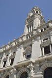 Tower of the City Hall. City hall in Avenue Dos Aliados, Porto, Portugal Stock Image