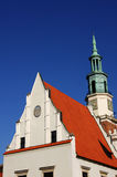Tower of City Hall in Poznan Stock Photos