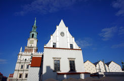 Tower of City Hall in Poznan Royalty Free Stock Photo