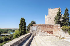 Tower of Ciudad Rodrigo Stock Photography