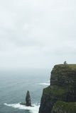 Tower in the Cliffs of Moher Stock Photography