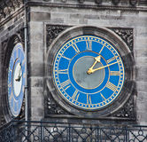 Tower clock. Of Dunrobin castle, Scotland, Sutherland Stock Images