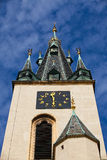 Tower clock Stock Photo