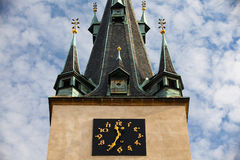Tower clock Stock Images
