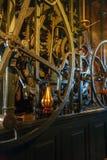 Tower Clock Ancient Mechanism, Nieuwe Kerk, Delft, Netherlands Stock Image