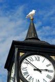 The tower clock, Brighton pier. UK, Europe Royalty Free Stock Image
