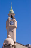 Tower clock in Buenos Aires Stock Photography