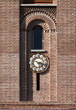 Tower clock - RAW format Royalty Free Stock Photos