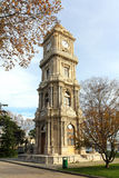 Tower with clock in dolmabahce palace - istanbul Stock Photography